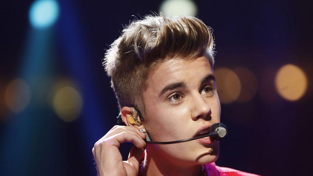 Justin Bieber actúa en el 'Jingle Ball'