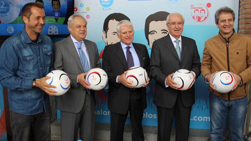 El Balón Solidario, una iniciativa de Mediaset con Carrefour y el Banco de Alimentos