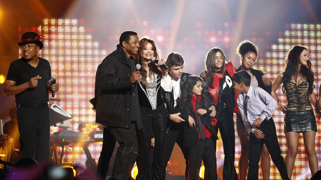 La familia del Rey del Pop se reunió a principios de octubre para hacerle un tributo, 'Michael Forever'