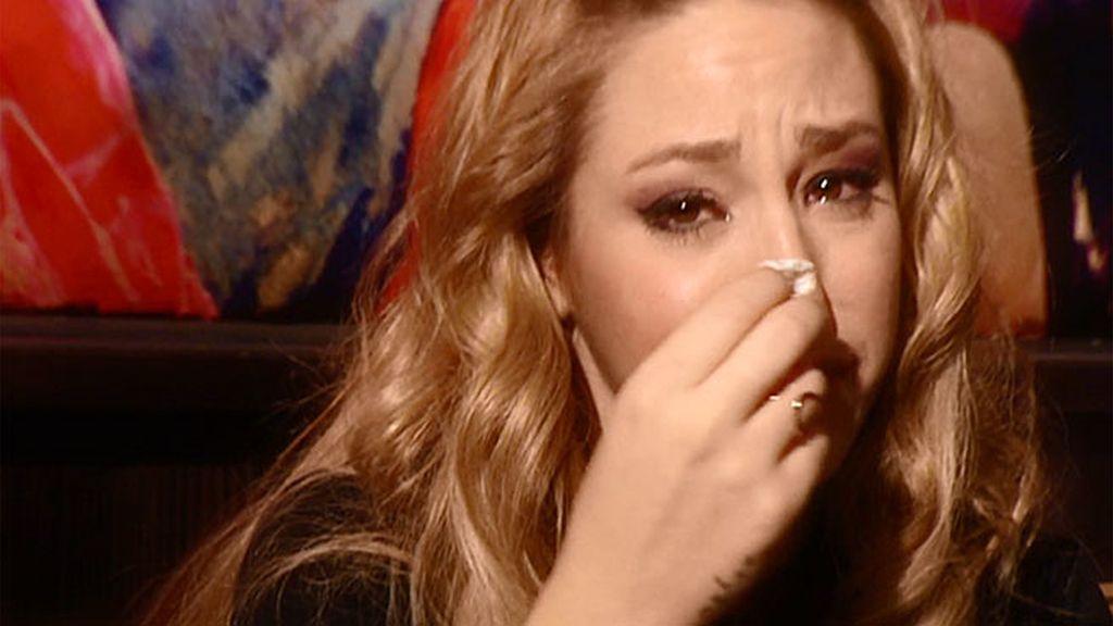 Steisy no ha podido contener las lágrimas en ningún momento