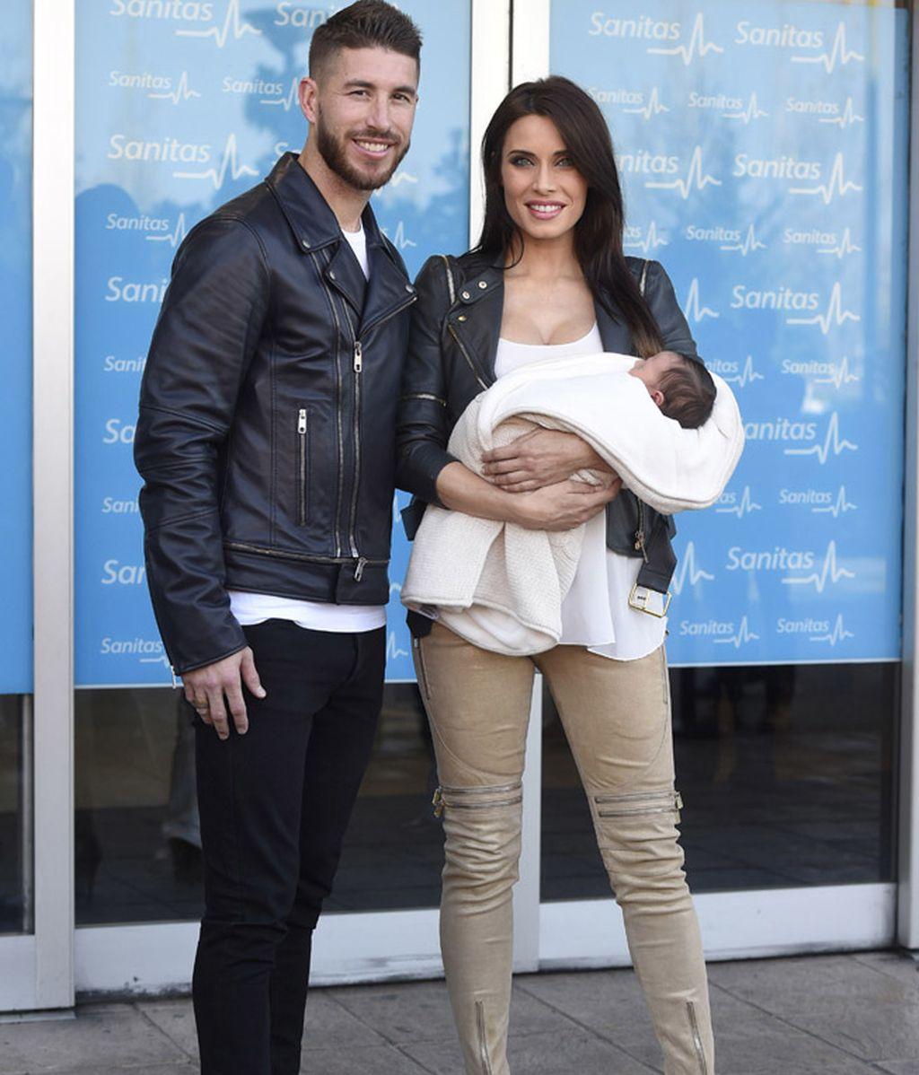 Pilar Rubio y Sergio Ramos presentan a su hijo Marco