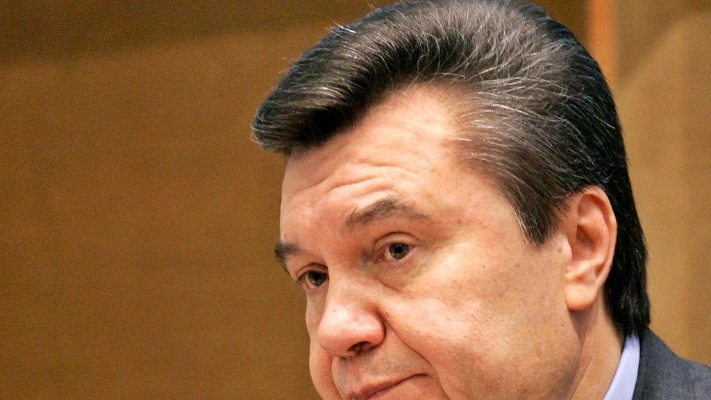 El expresidente de Ucrania Viktor Yanukovic