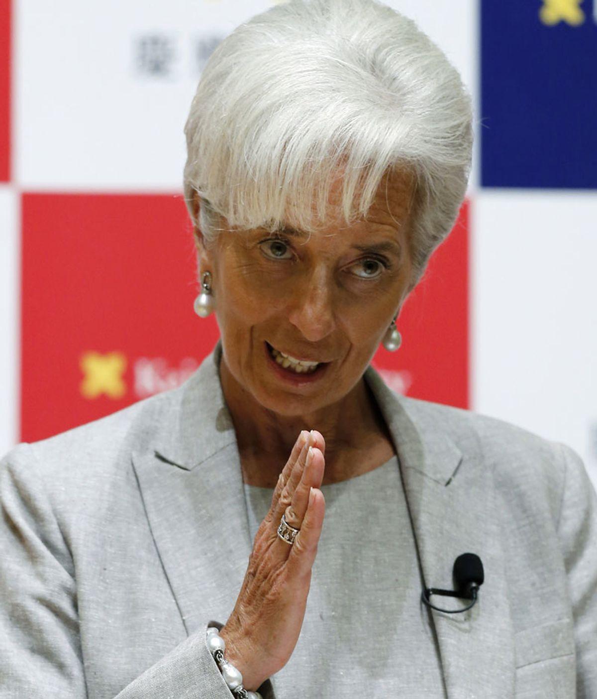 Imagen de archivo de la directora gerente del FMI, Christine Lagarde