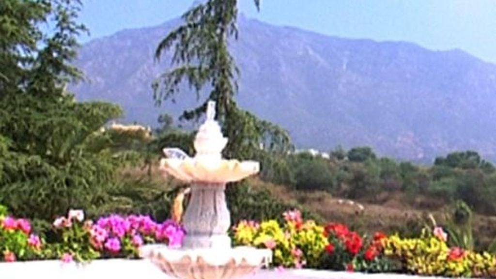 Carmen Lomana nos enseña la terraza de su casa de Marbella