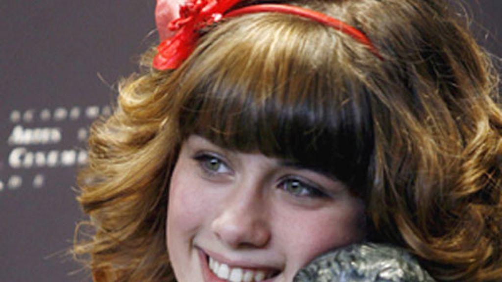 Nerea Camacho, actriz revelación en 2009.