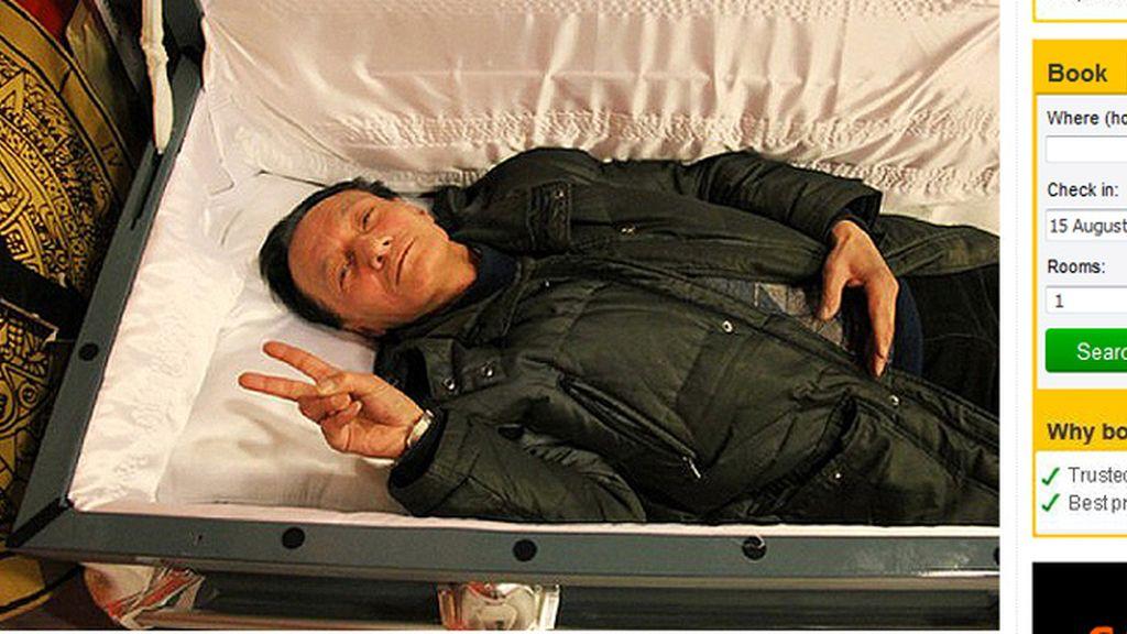 La última atracción en China, simular tu propia muerte