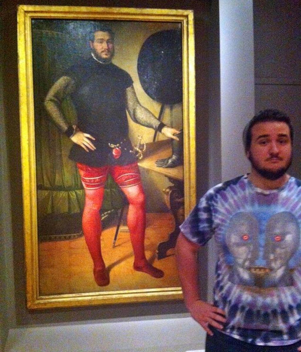 Max Galuppo, encuentra a su gemelo en un cuadro del siglo XVI