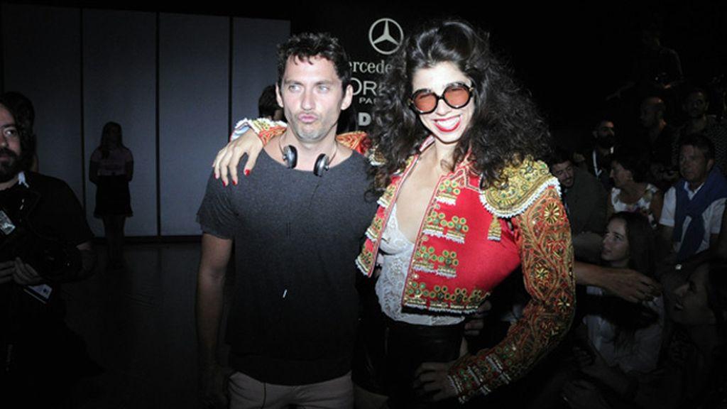 Paco León y Julia de Castro
