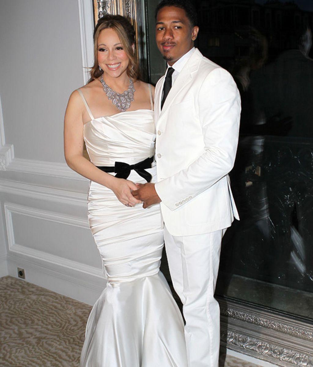 Otros novios que, como Ezequiel Garay, se casaron blancos y radiantes