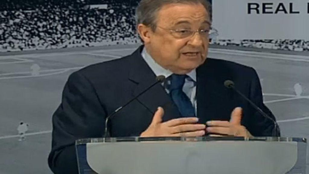 Florentino Pérez desmiente que los capitanes del Real Madrid le dieran un ultimátim sobre Mourinho