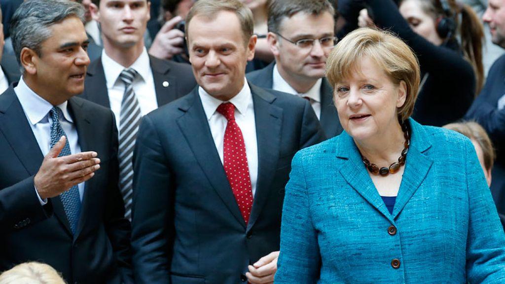 """Merkel, en la presentación del libro """"Angela Merkel - La canciller y su mundo"""""""