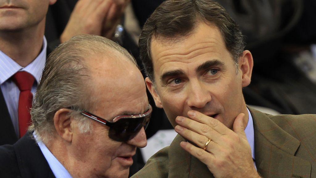 El Rey y el Príncipe Felipe