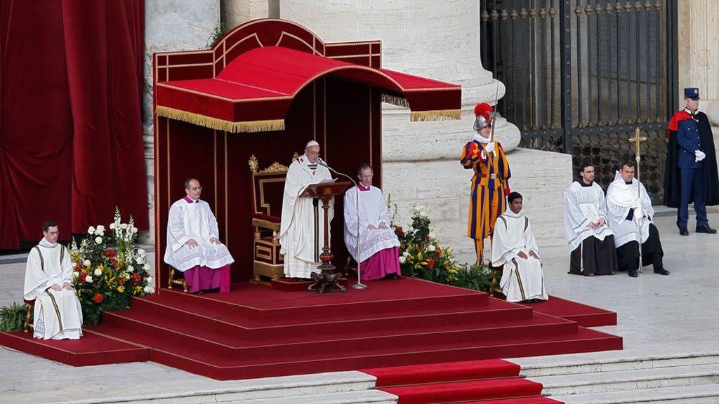 El Papa Francisco en la homilía de la Misa de Inicio del Pontificado