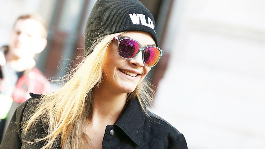 Cara Delivingne se une a la moda 'mirror'