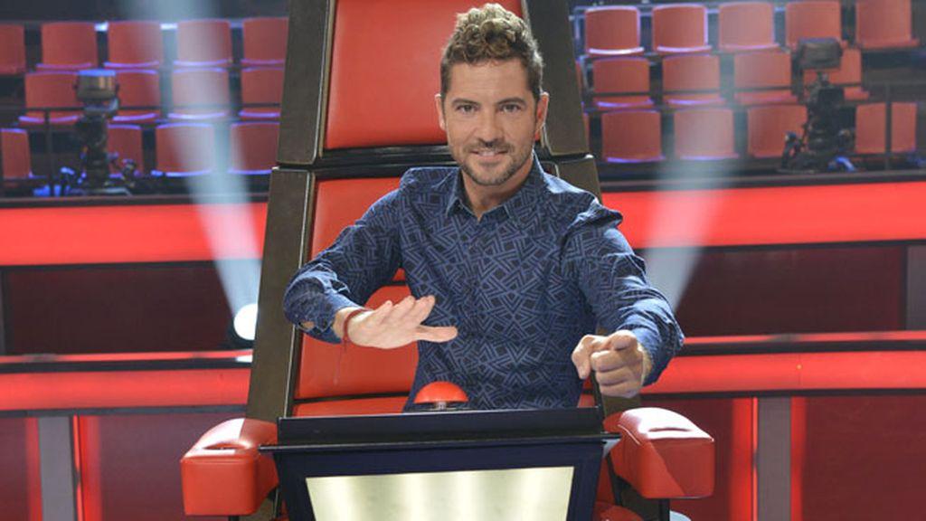 David Bisbal, lanzado a pulsar por los talentos de 'La Voz Kids'