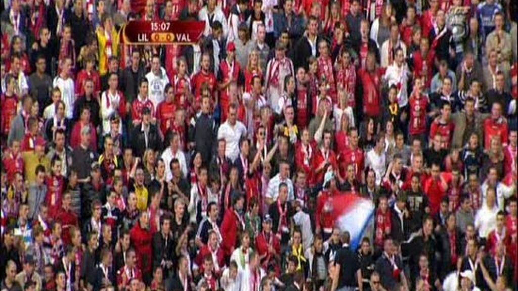 Lille - Valencia, primer asalto