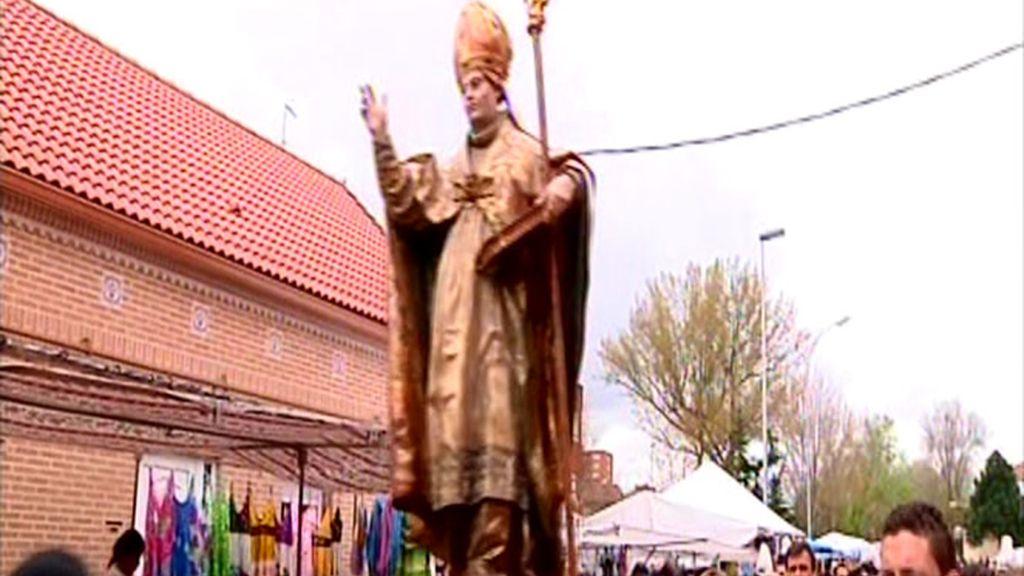 Los motivos religiosos siempre están presentes en las fiestas nacionales