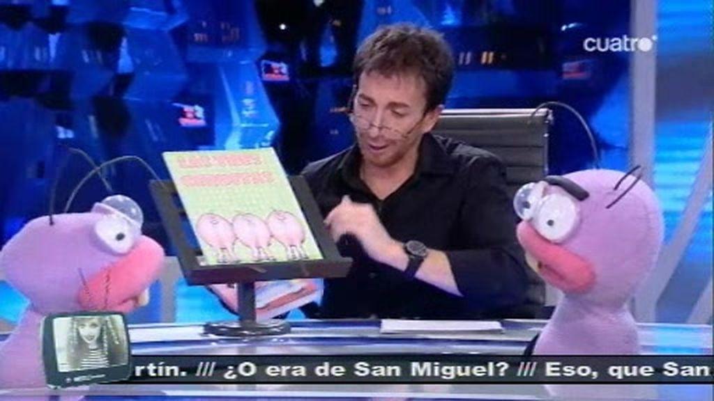 El Hormiguero Nius trae los nuevos libros recomendados Sánchez Dragó