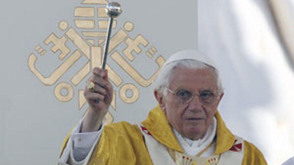 El Papa durante la misa de envío FOTO: EFE