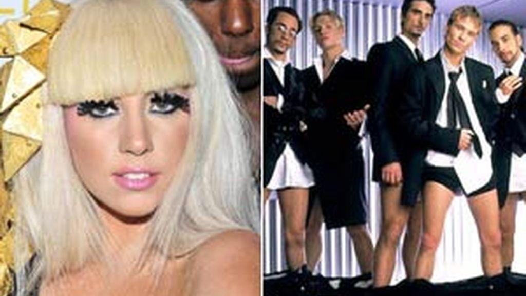 Lady Gaga sigue los consejos de los Backstreet Boys.