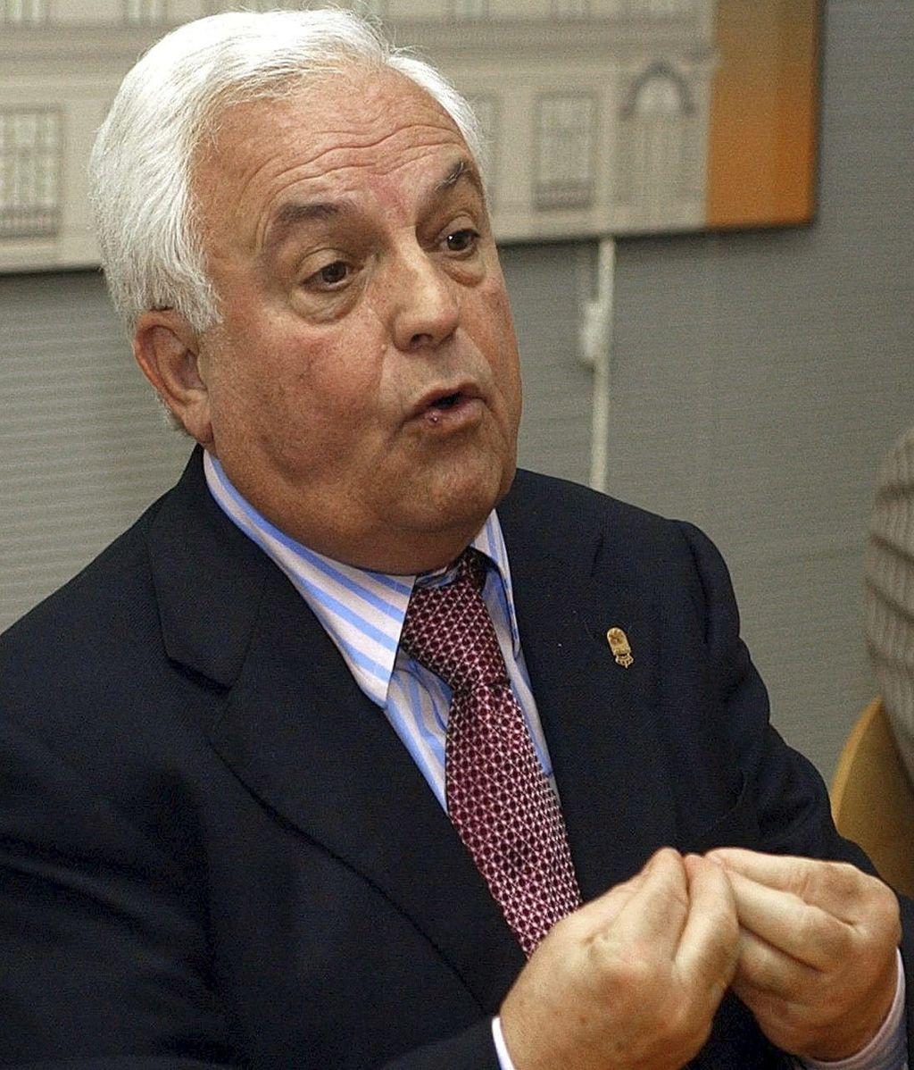 El expresidente de la Diputación y del PP de Ourense, José Luis Baltar. Foto: EFE