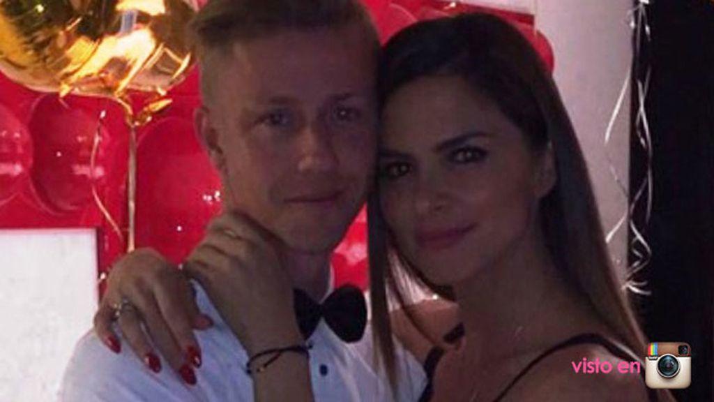 Guti y Romina Bellucio celebraron la Nochevieja en familia