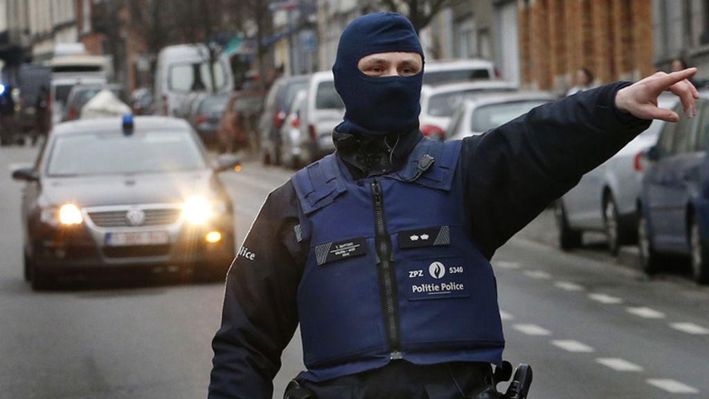 La captura de Salah Abdeslam en imágenes