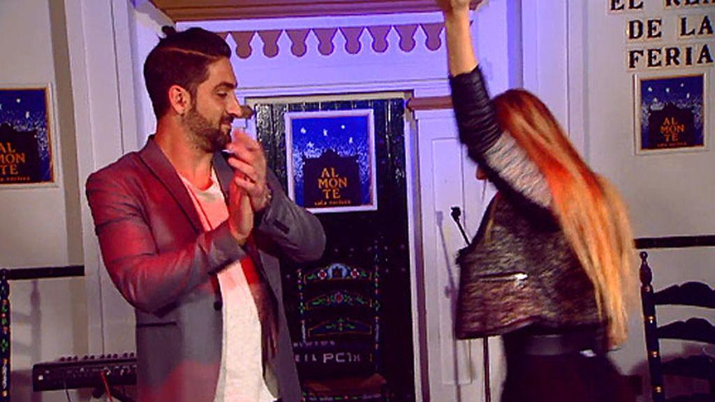 Clases de flamenco para dos italianos