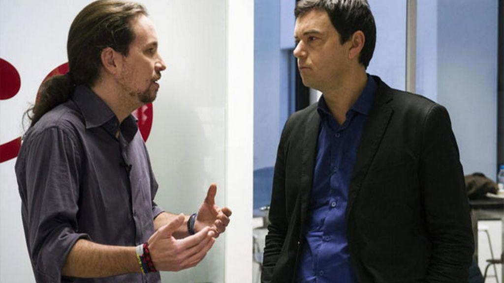 Thomas Piketty, Pablo Iglesias