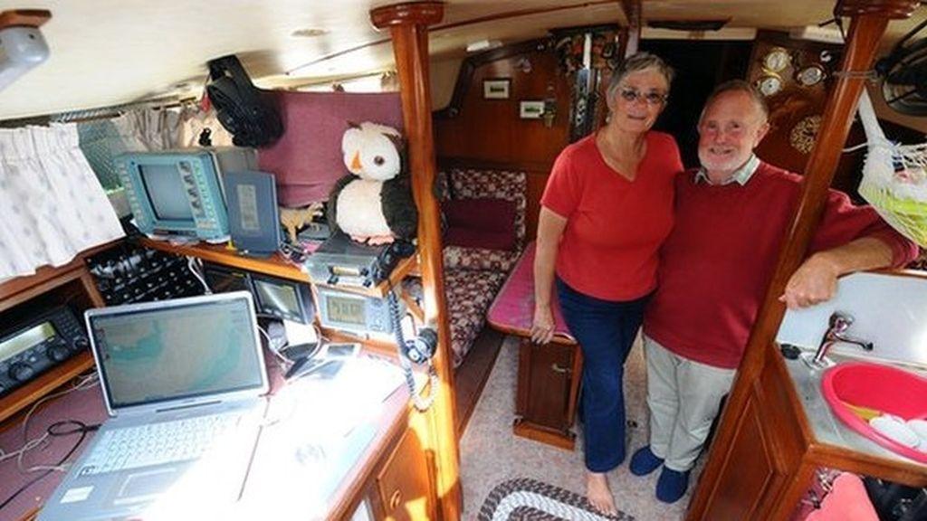 Han viajado en barco durante los últimos 16 años