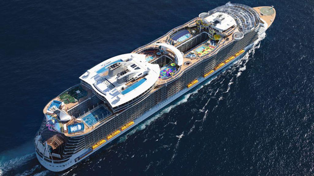 A bordo del crucero más grande y lujoso del mundo