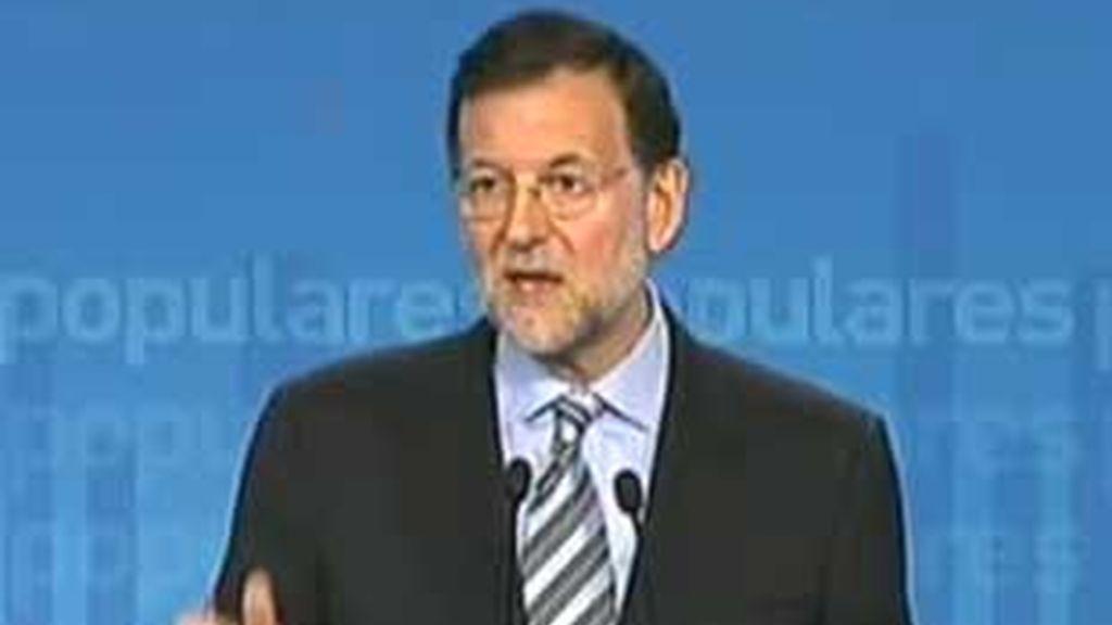 Rajoy confía en instalarse en Moncloa tras el 20-N