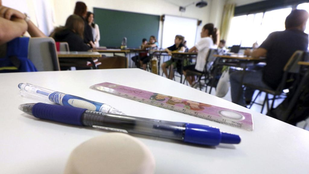 Alumnos del colegio Adolfo Suárez de Madrid