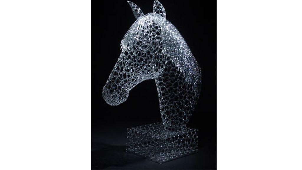 Robert Mickelson, un artista del cristal