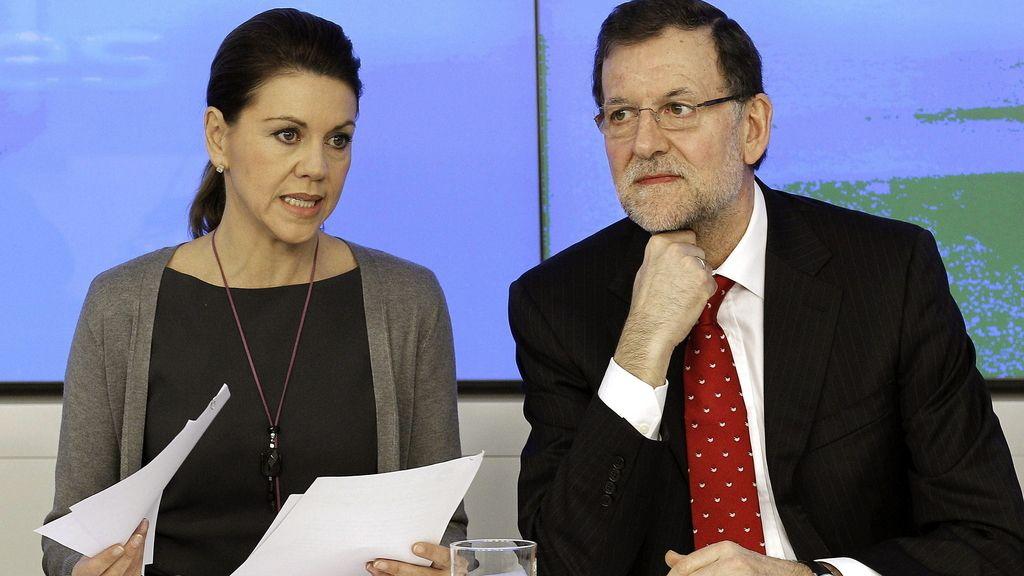 Rajoy preside el comité ejecutivo del PP en medio de la tormenta del 'caso Bárcenas'