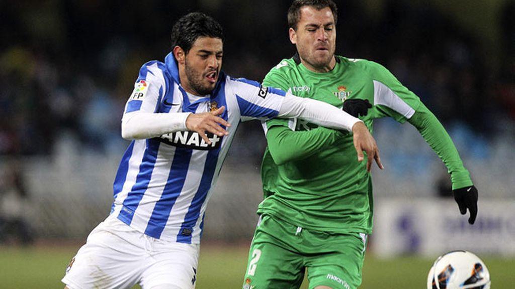 Real Sociedad contra Betis