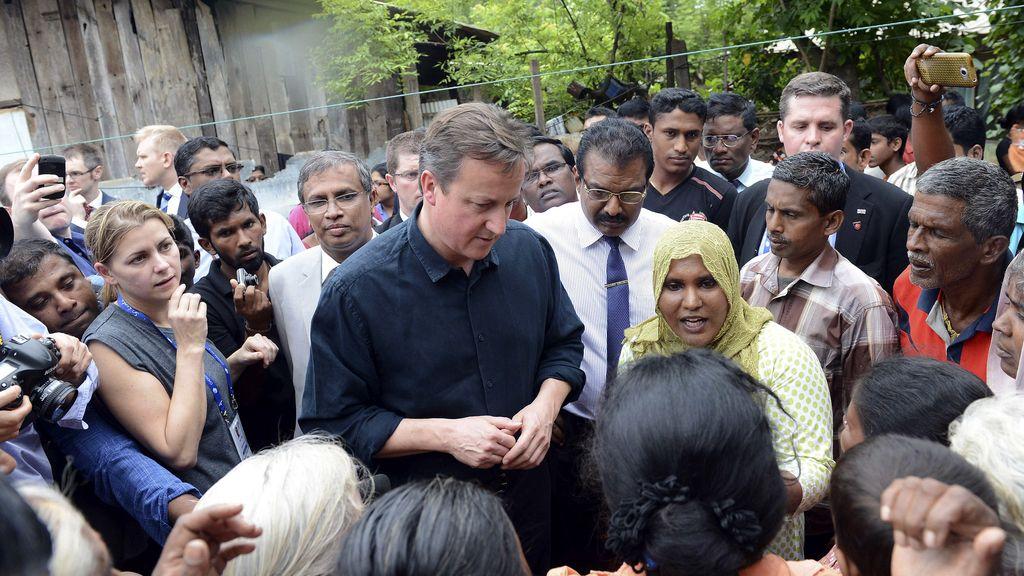 David Cameron, en Colombo