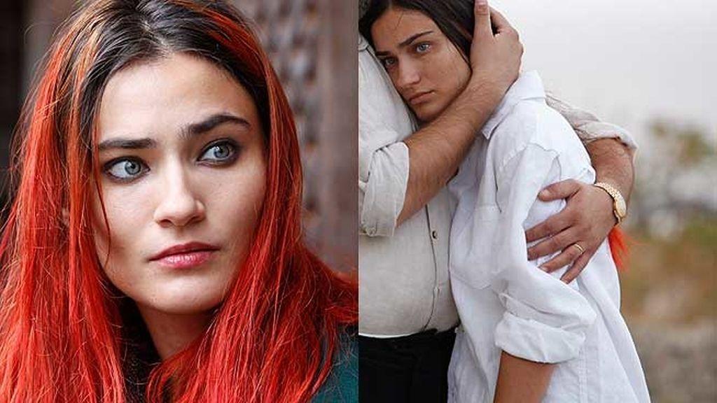 El pelo de Saadet Aksoy (Aska): del rojo fuego al tono castaño
