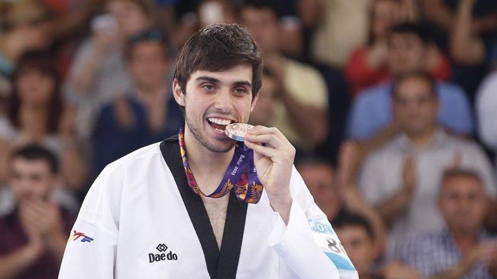 El taekwondista Daniel Ros consigue la medalla de bronce en Bakú
