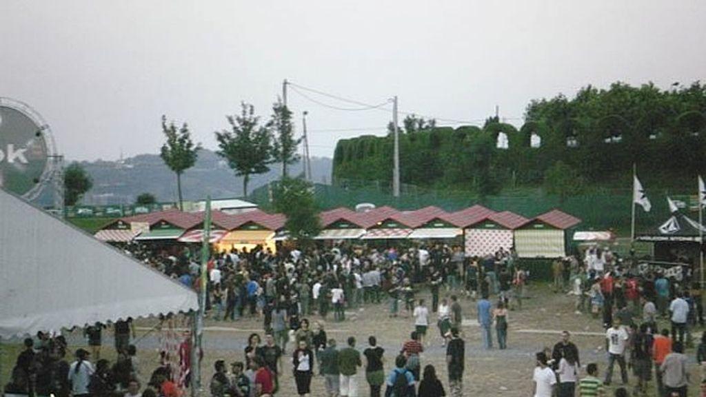 Una multitud atesta la pista del BBK LIve 2010
