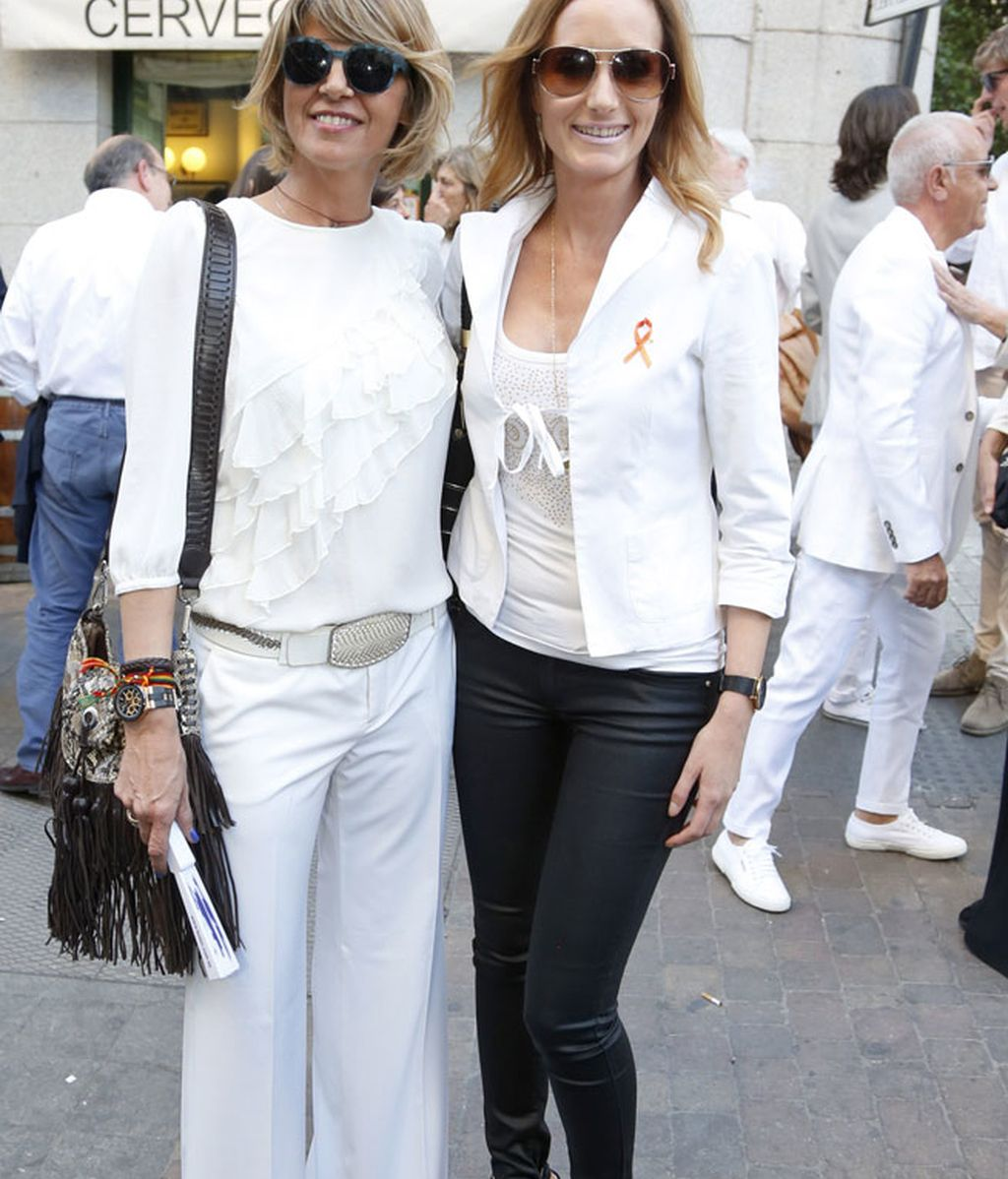Arancha de Benito y Sandra Ibarra