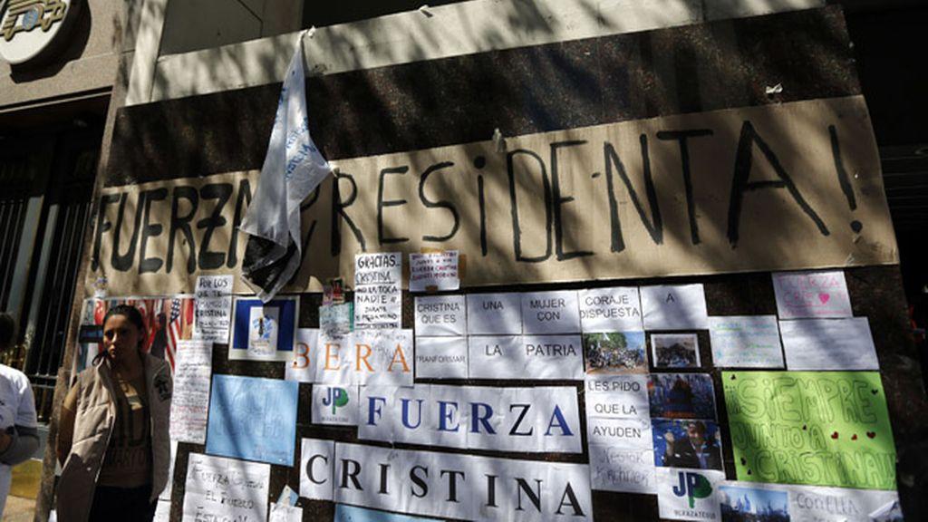 Cristina Fernández recibe el alta médica