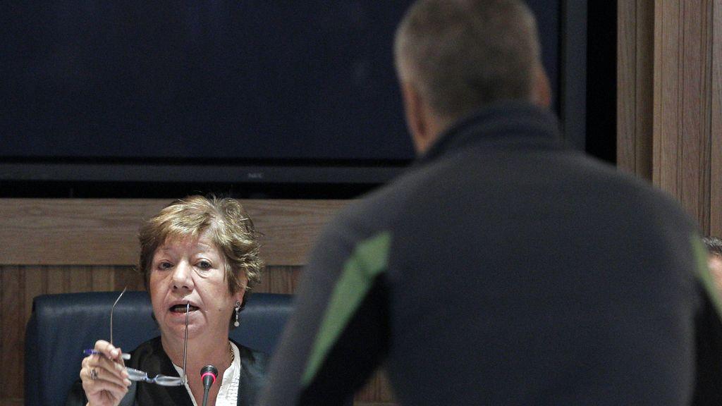 """El exjefe militar de ETA Francisco Javier García Gaztelu, alias """"Txapote"""", en la Audiencia Nacional FOTO: EFE"""