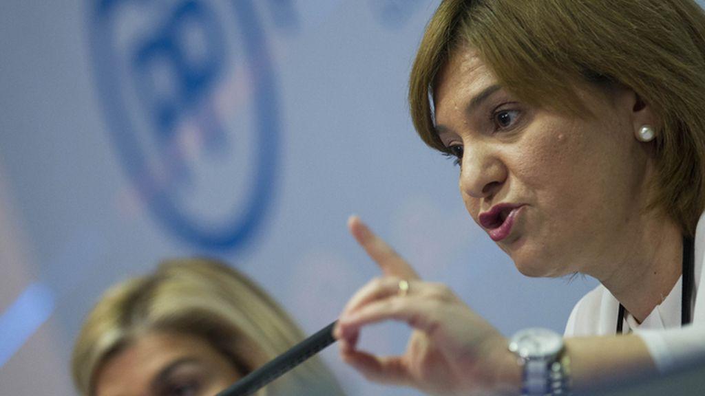 Isabel Bonig, presidenta del PPVC
