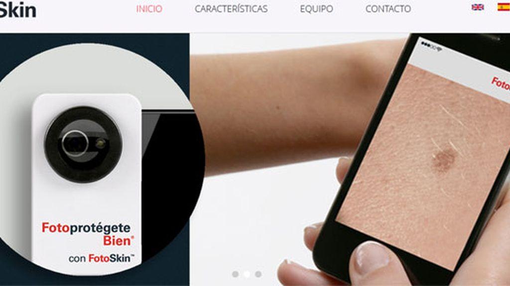 app, cáncer de piel, FotoSkin, diagnóstico precoz de cáncer
