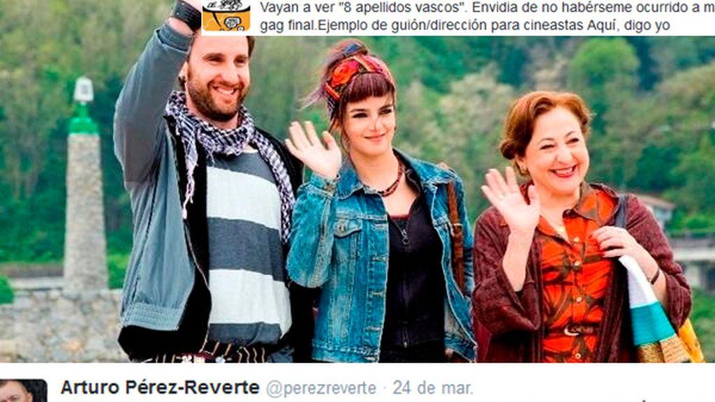 Twitter se rinde a 'Ocho apellidos vascos'