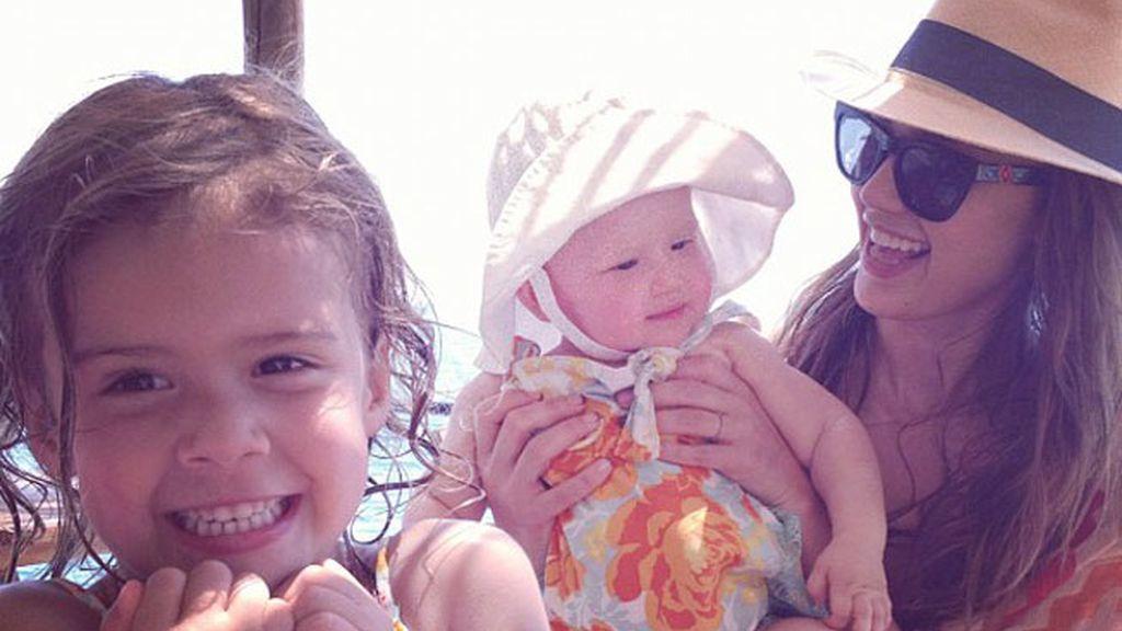 Honor y Haven, las hijas de Jessica Alba
