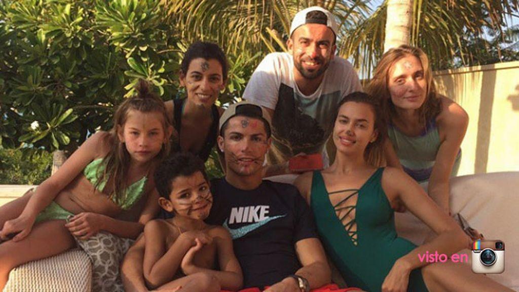 Su última foto en Instagram: divertidas navidades en Dubai con Cristiano JR