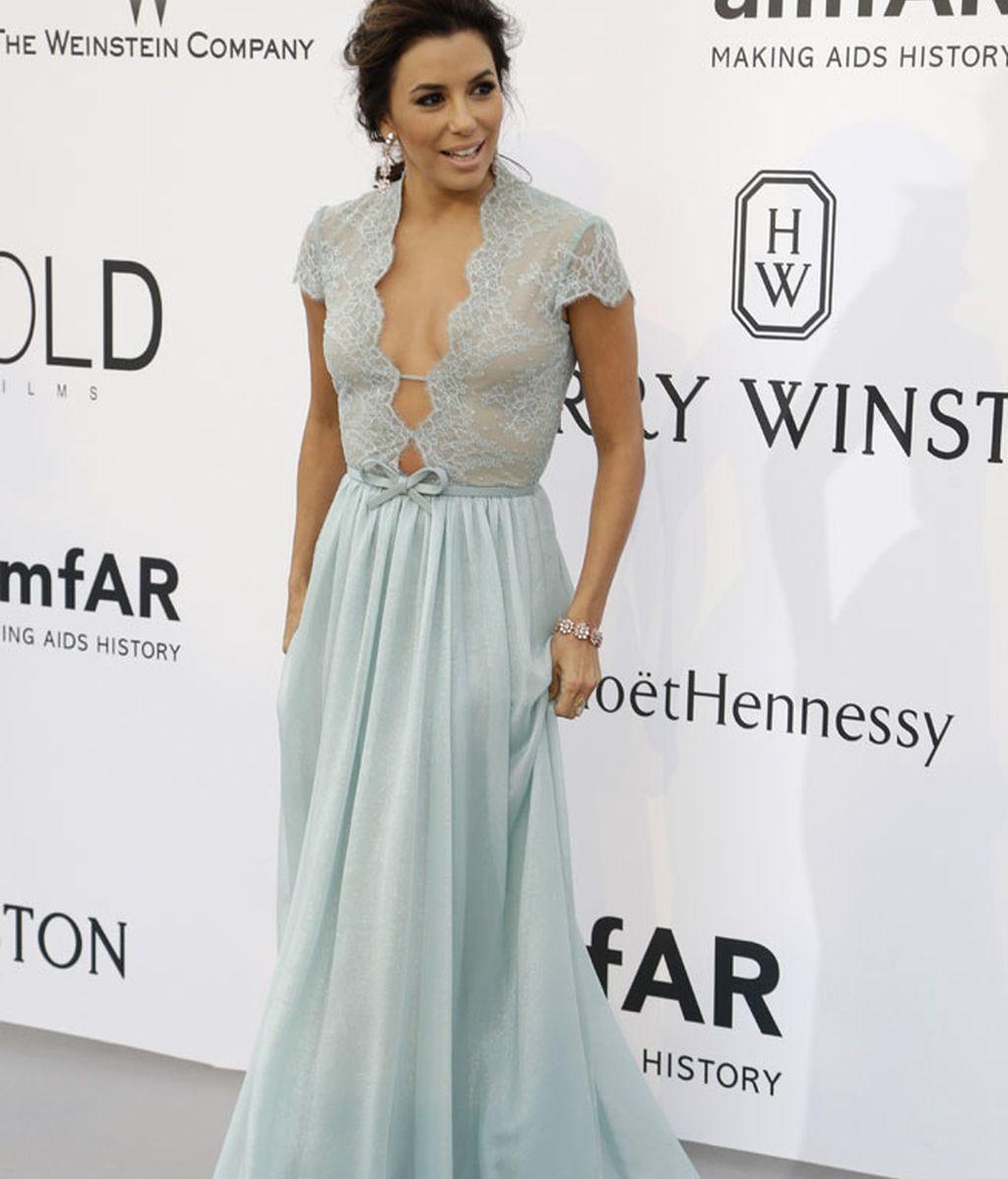 Eva Longoria, una de las actrices que ha optado por el verde Candy