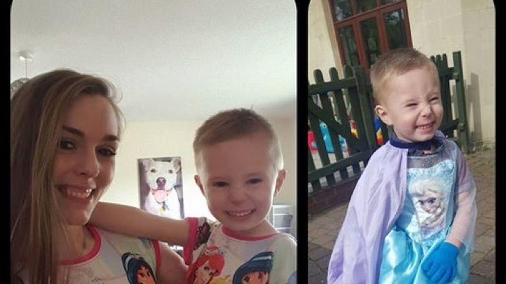 Critican a su hijo por vestir como una princesa de Disney y la madre responde así